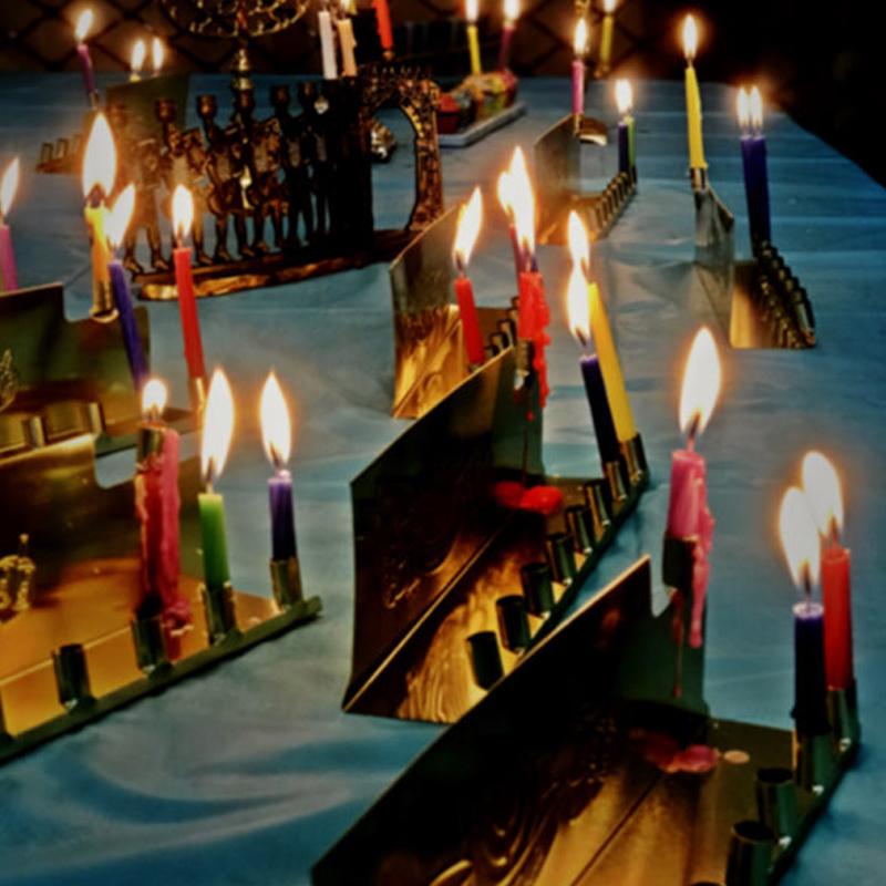 Etz Chayim candles
