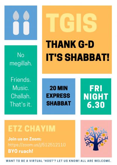 TGIS - Express Shabbat