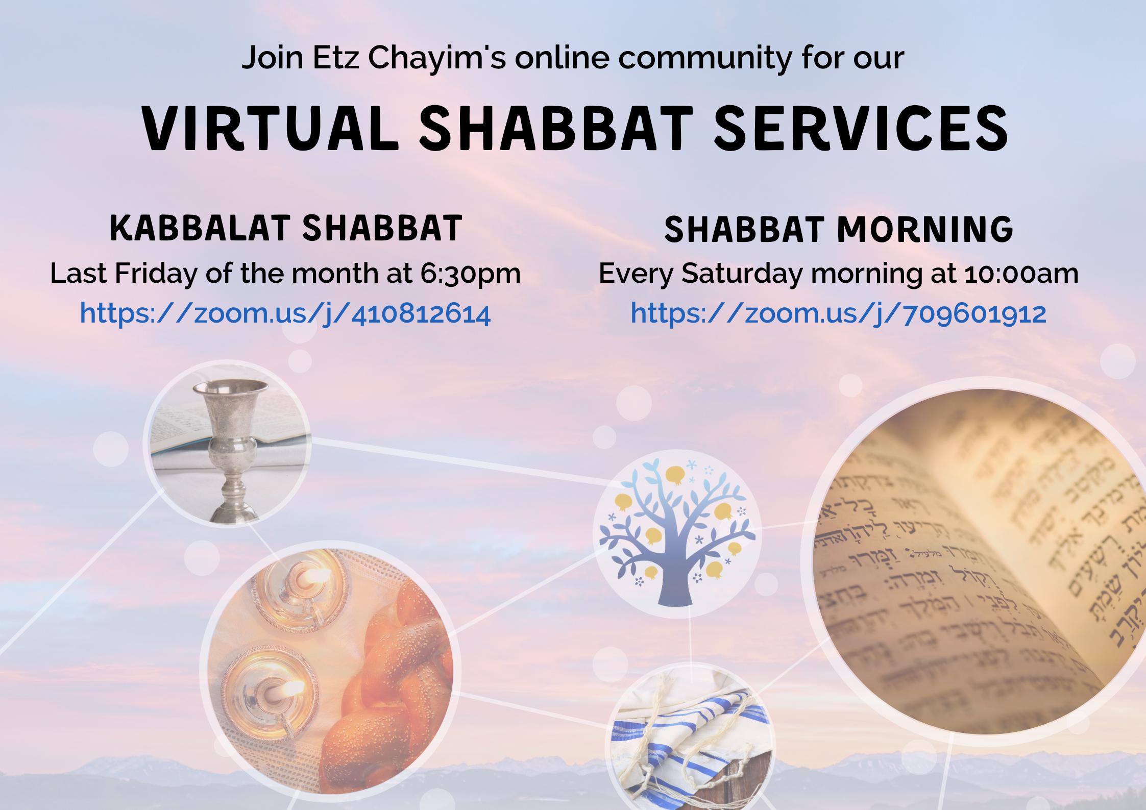 ZOOM Kabbalat Shabbat & Shabbat Morning 2