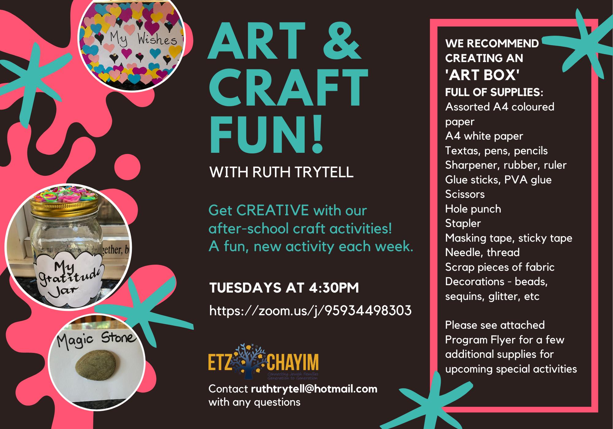 Art & Craft Fun with Ruth Trytell 3