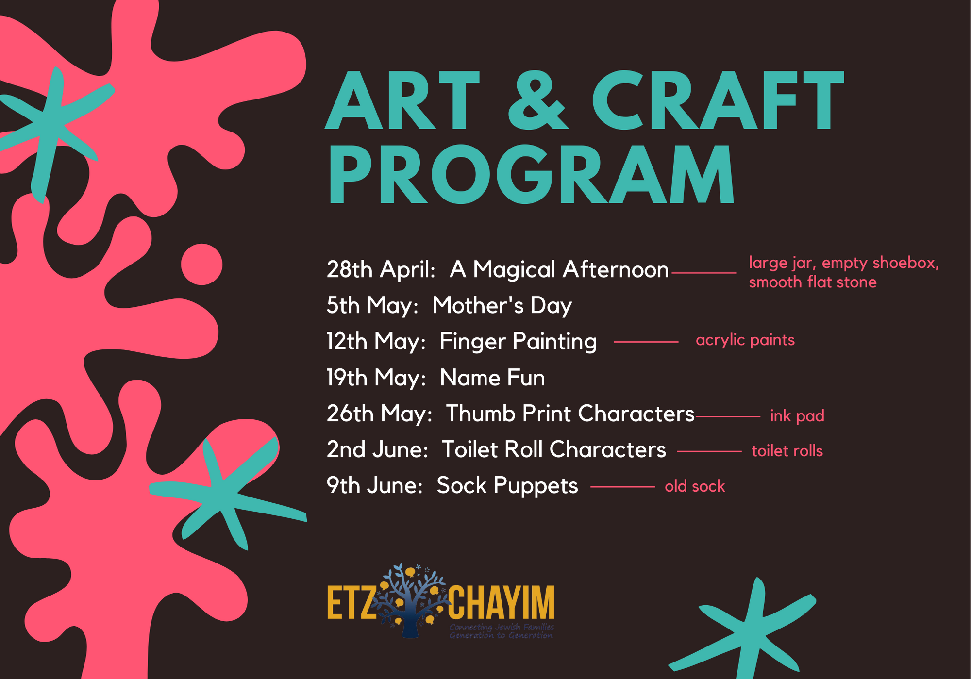 Art & Craft Program 3